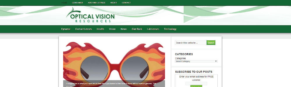 Optical Business News - The Optical Vision Site & Optical Vision Resources